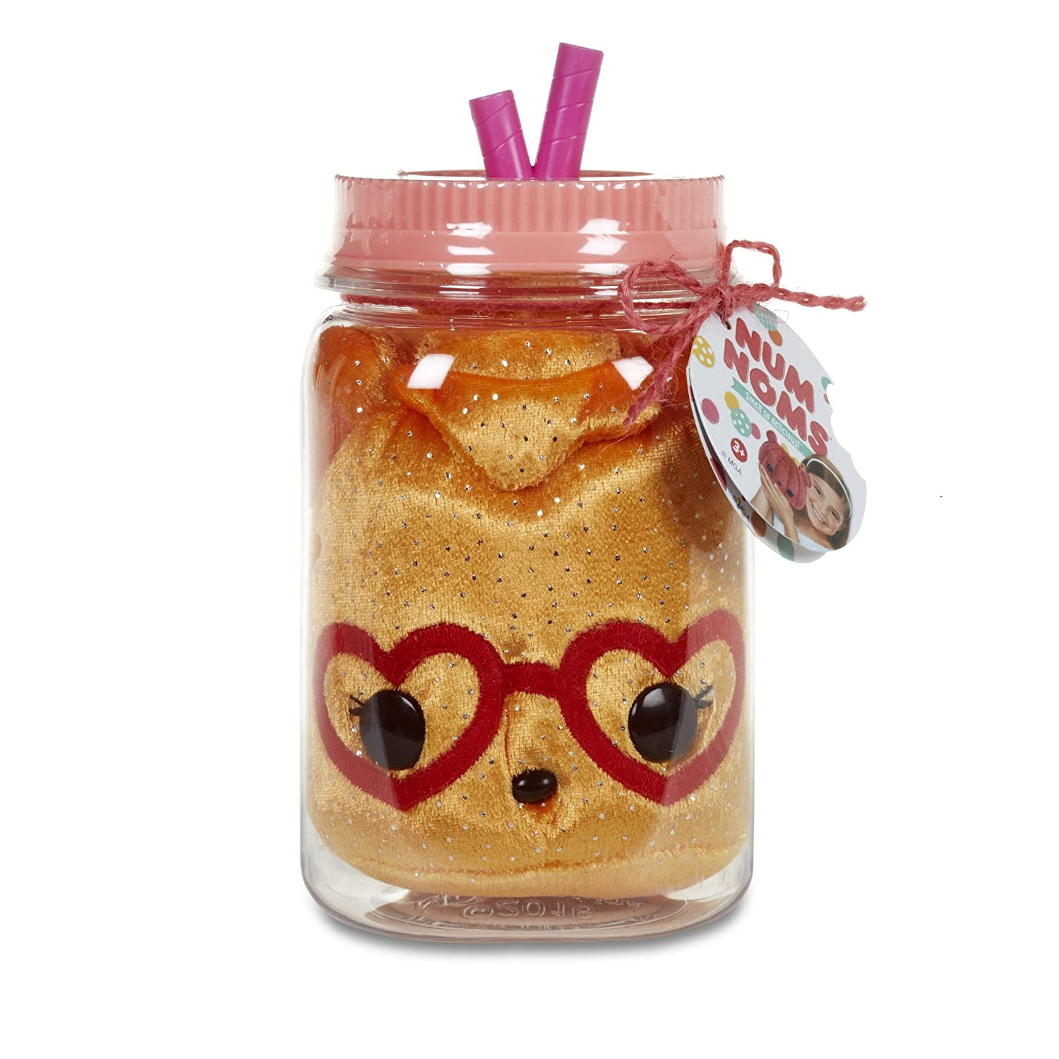 Num Noms Surprise in A Jar Oj Bear Scented Plush