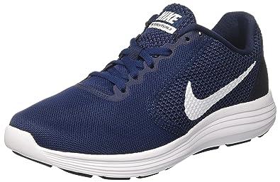 Nike Damen Revolution 3 Laufschuhe, Schwarz (Black/Mtlc Dk Grey-Anthracite), 39 EU