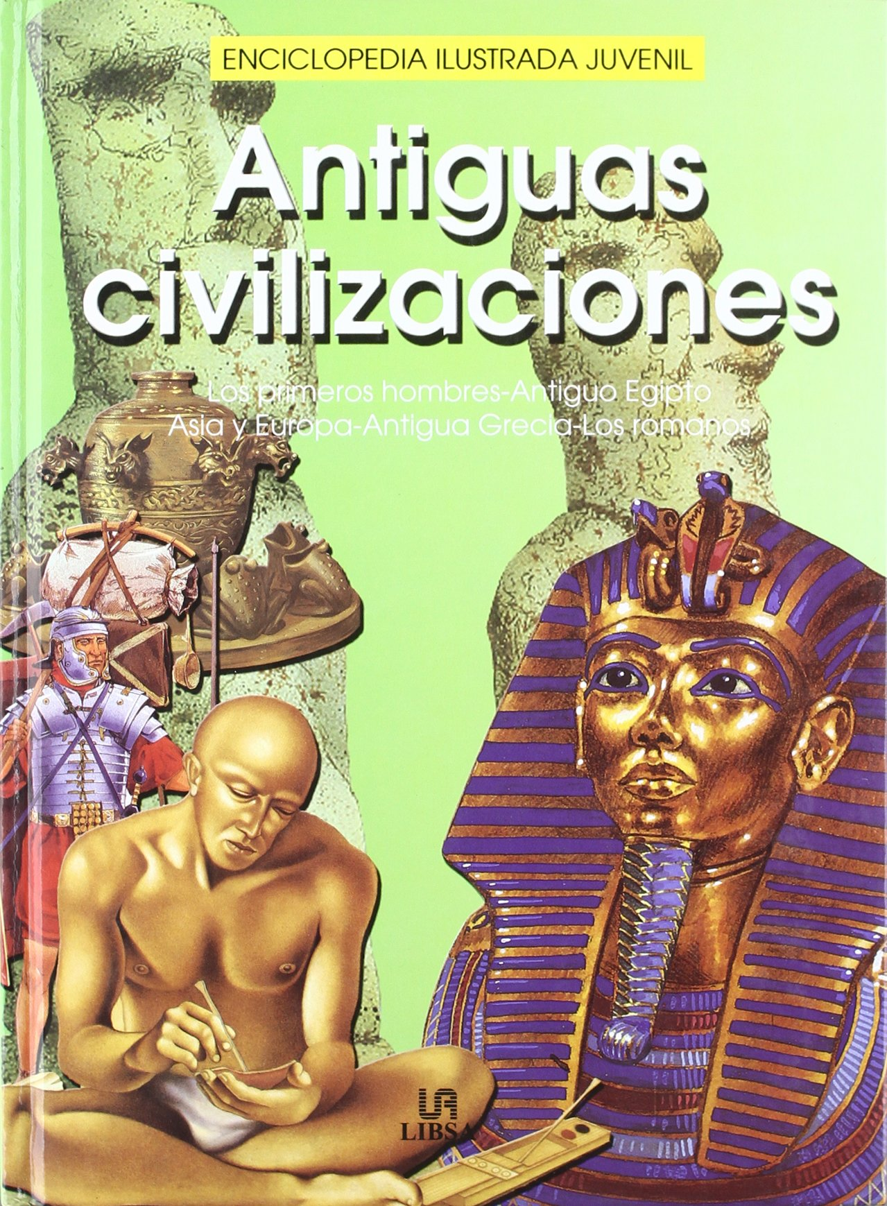 Antiguas civilizaciones Enciclopedia ilustrada juvenil: Amazon.es: Alicia De la Pena: Libros