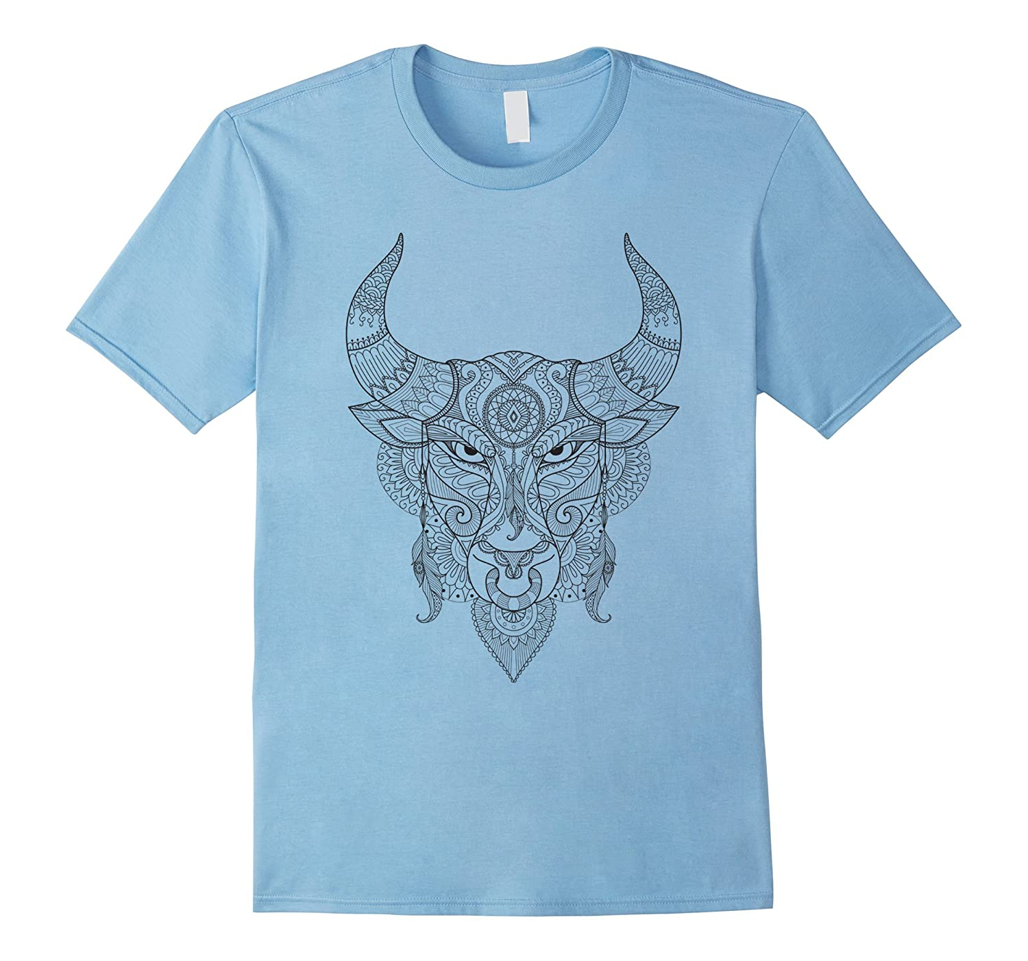Angry Bull - Color Your Own Colorific Tees Design-RT