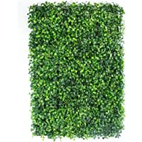 3DPN PLASTIC Follaje Artificial Sintentico Muro Verde Pared Decoracion Casa Hogar Jardin Interiores Exteriores Tamaño…