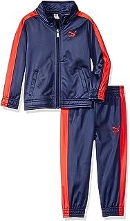 d89bb64215fa Amazon.com  PUMA Little Boys  Track Set  Clothing
