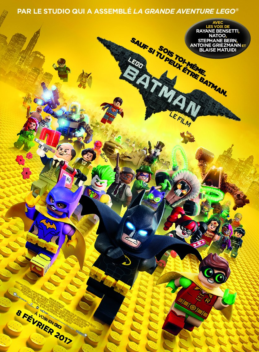 Lego Batman, Le Film 3DBlu-ray 3D