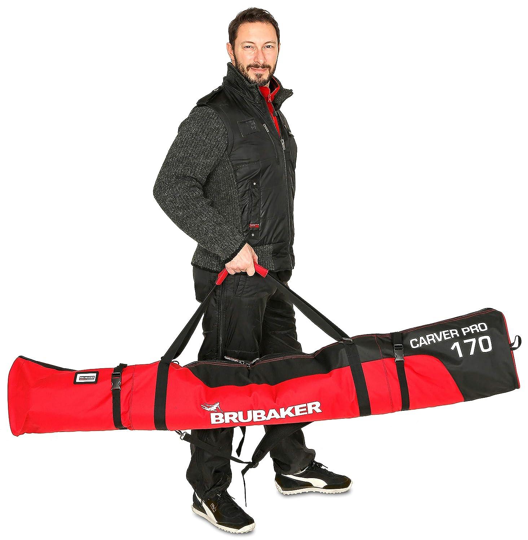 Brubaker sac de Ski rembourr/é skibag CARVER PRO Housse de ski 170 cm ou 190 cm 5 couleurs