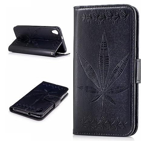 HTC Desire 820 caso, HTC Desire 820 bonroy® hoja de arce en ...