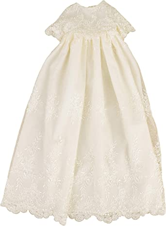 BABY INFANT GIRL CHRISTENING BAPTISM Dress Gown Size 0 1 2 3 4 0-30 Months