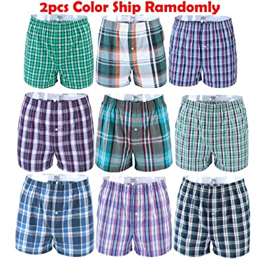 1558d6765c64f Imixcity Men 2 Pack Pyjama Shorts Cotton Jersey Bedding Night Shorts Pyjama,  women's, 2pcs