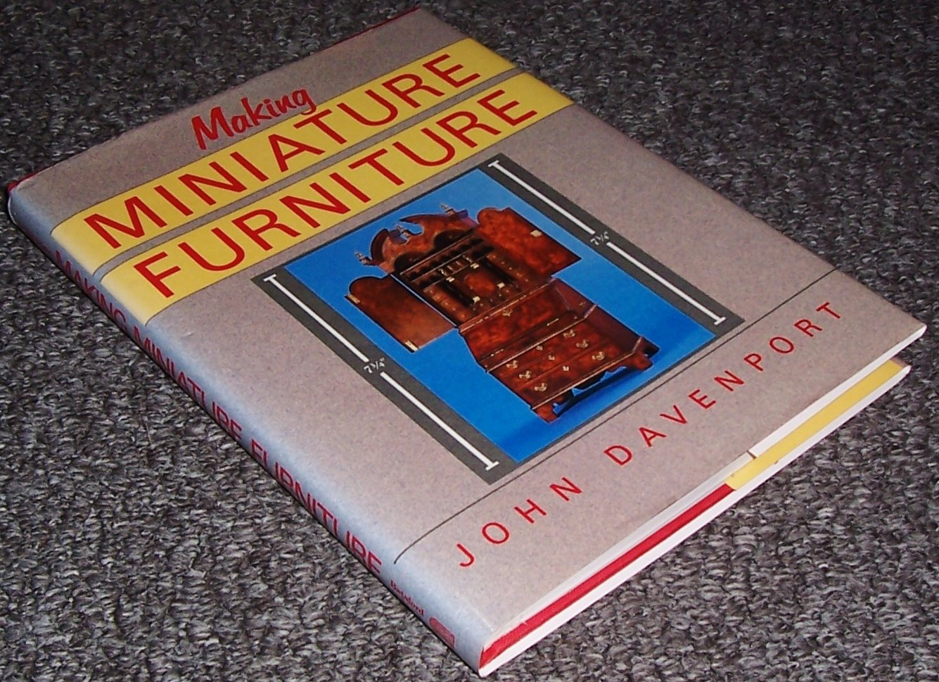 Making Miniature Furniture (Design & construction)