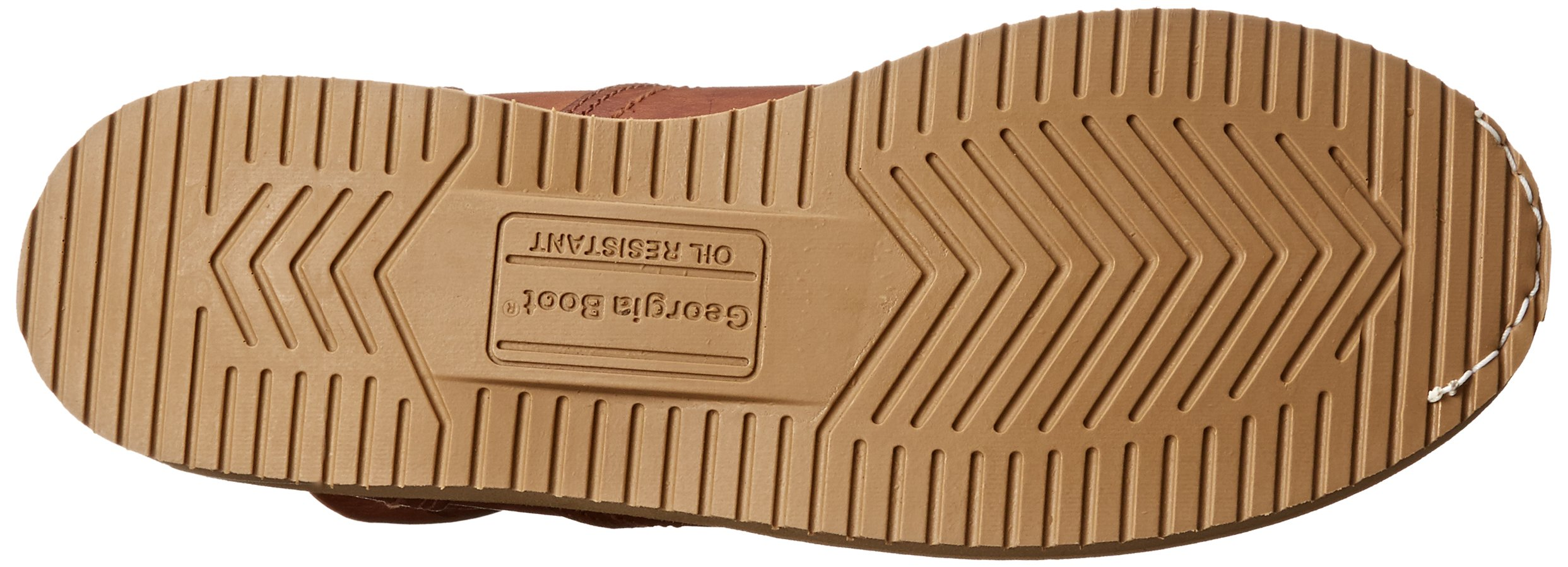 Georgia Boot Men's 8 Inch Wedge Work Shoe, Barracuda Gold, 12 W US by Georgia (Image #3)