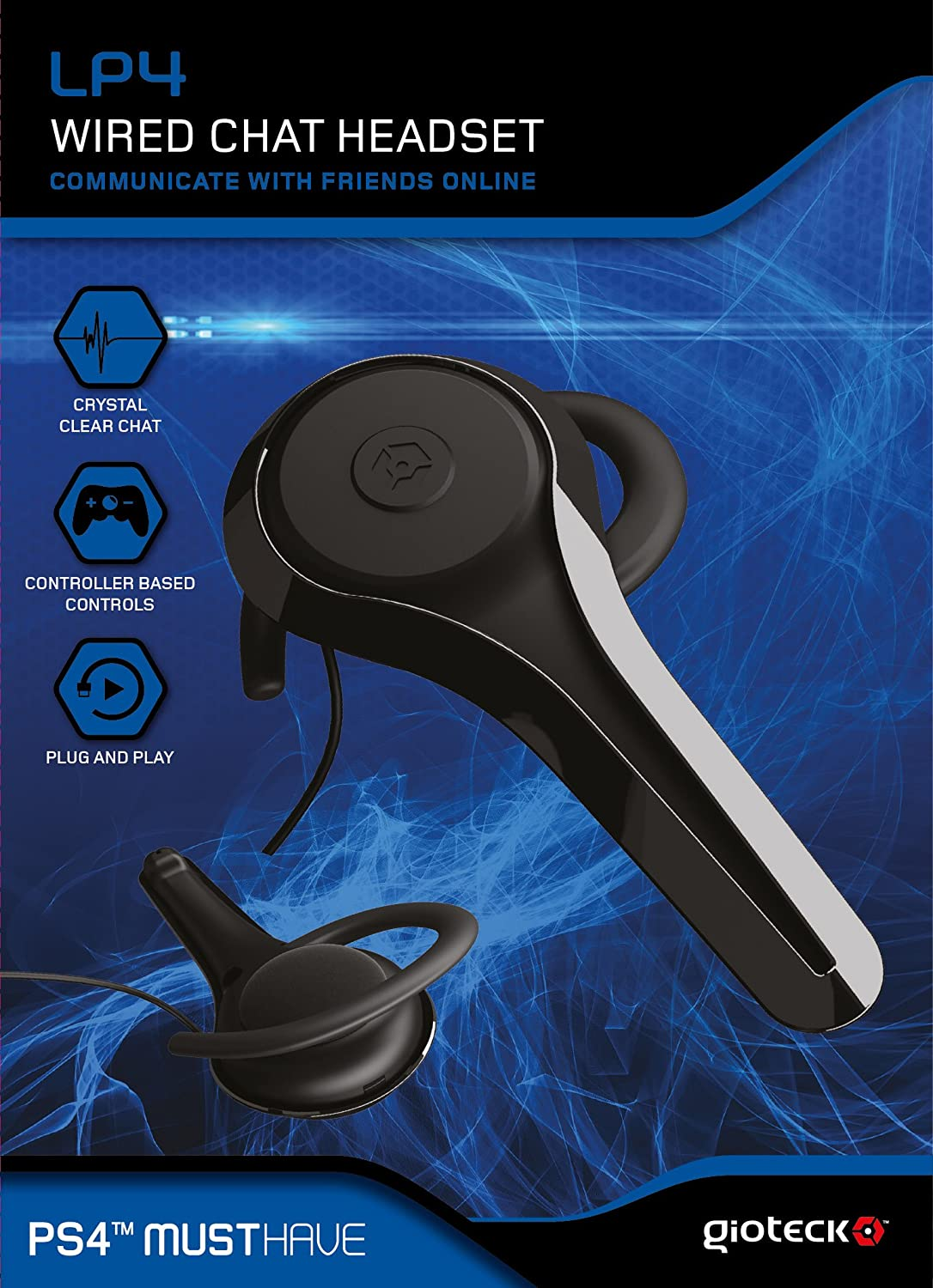 GIOTECK LPC WIRED Chat Headset PS4 Xbox