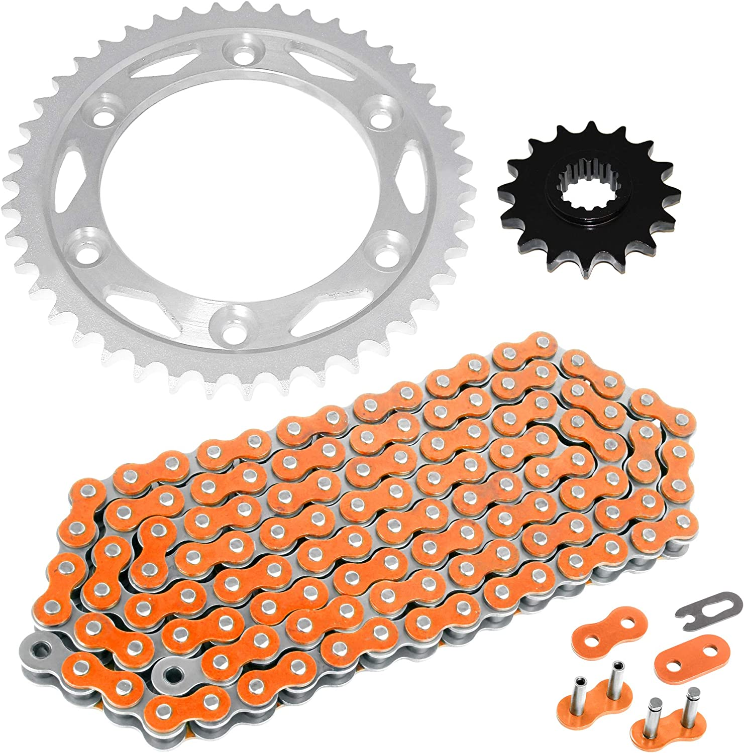 Caltric Drive Chain and Sprockets Kit fits HONDA CBR 929RR CBR954RR Fire Blade 2000 2001 2002 2003