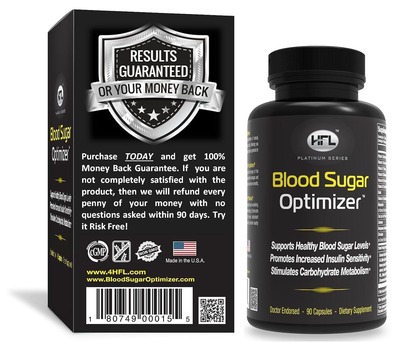 Hfl Blood Sugar Optimizer Ingredients Side Effects