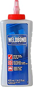 Weldbond 8-50420 Multi-Purpose Adhesive Glue, 1-Pack, As Pictured
