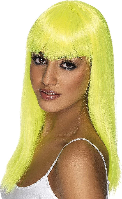 Smiffy/'s Glamourama Wig Neon Blue