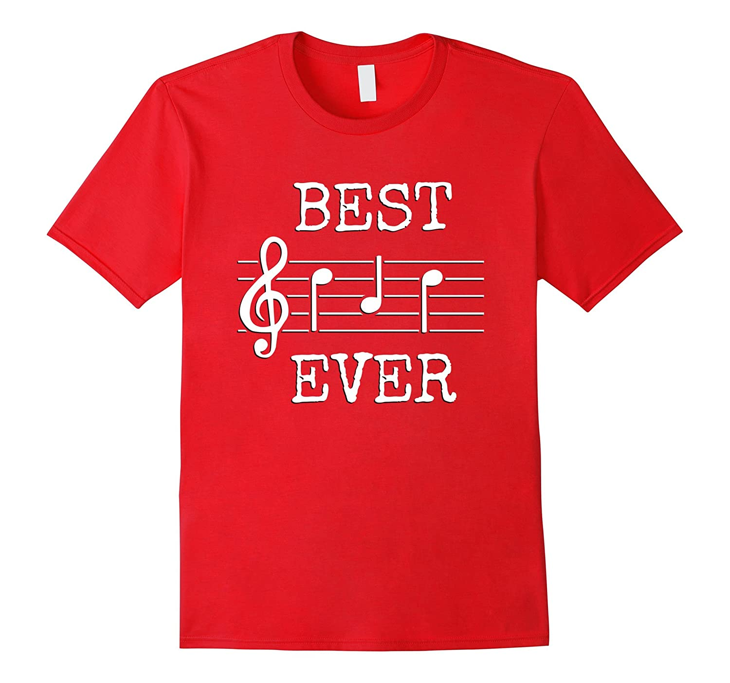 386ff162 Best Dad Ever Music Shirt Cute Funny Saying Fathers Day Gift-PL
