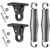 SwingMate Porch Swing Hanging Kit - 750 Lbs. Capacity - Proudly Made in The USA - Patented Heavy-Duty Suspension Swing Hanger
