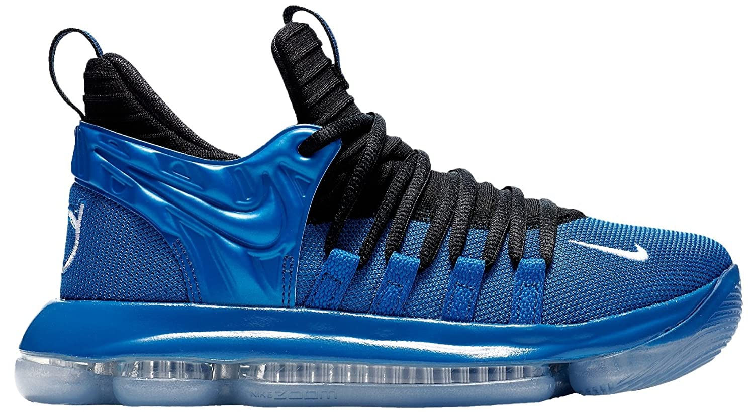 Nike Zoom KD10 LMTD NBA Grade School Basketball Shoes (6.5 M US Big Kid,  Dark Neon Royal/White-Black)