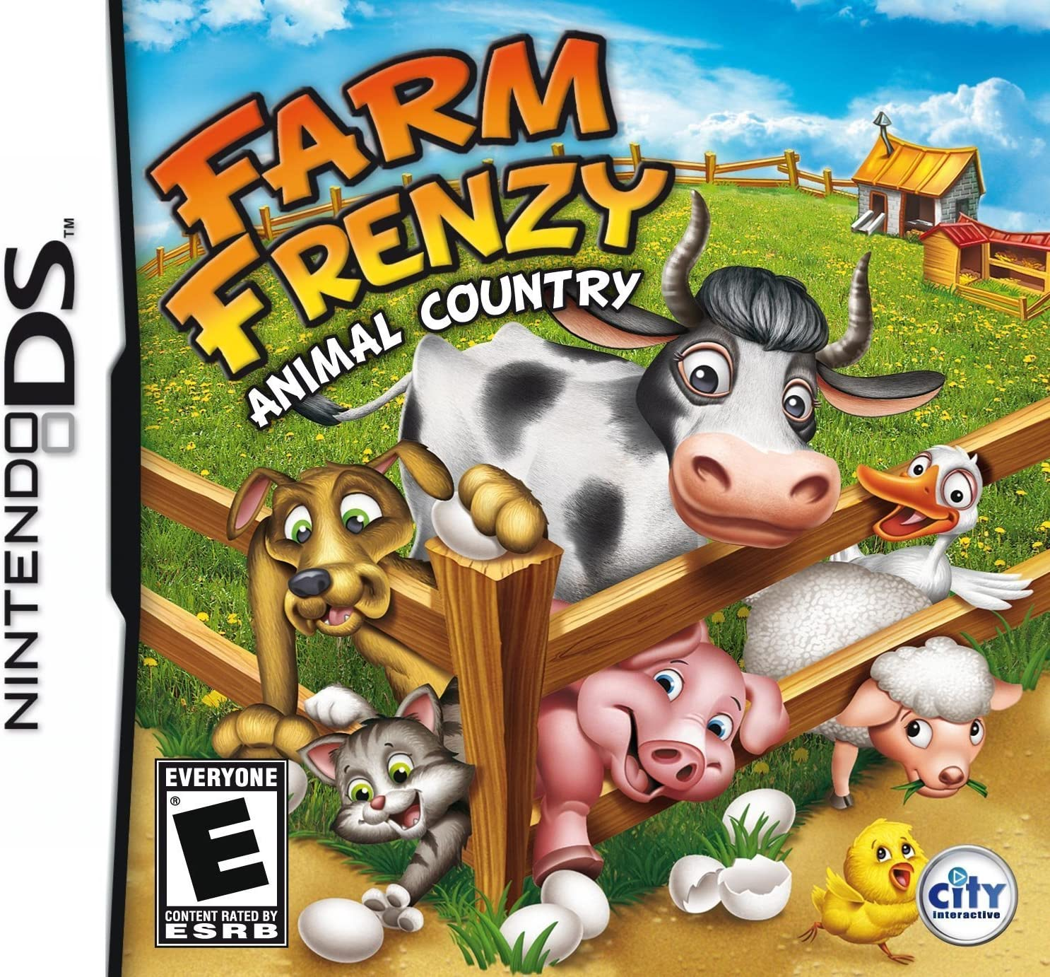Amazoncom Farm Frenzy Animal Country Nintendo DS Video Games - Country games