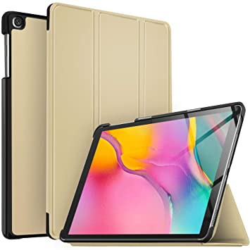 IVSO Case for Samsung Galaxy Tab A 10.1 2019, Ultra Lightweight Protective Slim Smart Cover Case for Samsung Galaxy Tab A 10.1 Inch SM-T510,SM-T515 ...