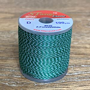 Hitena Rod Wrapping Thread - Zebra (Jasper) Winding Thread. Available in 67 Types in 2 Sizes