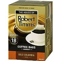 Robert Timms Gold Columbian Coffee Bags, 105 g