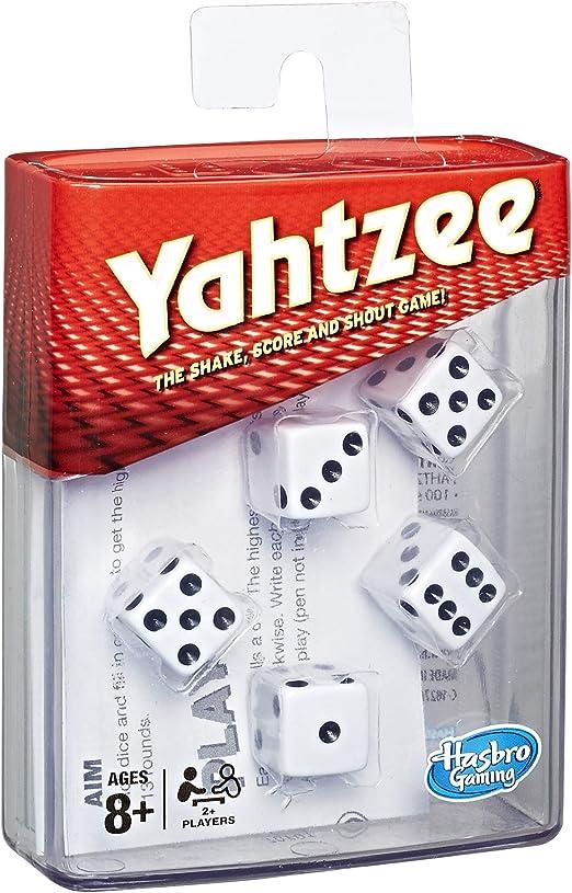 Hasbro Juego de Dados Yahtzee C2406802: Amazon.es: Juguetes y juegos