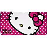 Northwest Sanrio The Company Hello Kitty Happy Kitty Beach Towel, 30 by 60