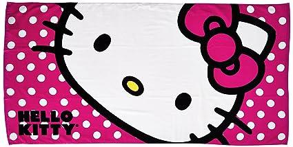 27f9b9cbe Amazon.com: The Northwest Company Sanrio Hello Kitty Happy Kitty ...
