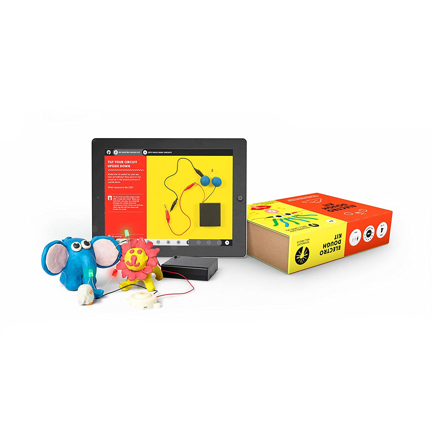 Technology Will Save Us Diy Electro Dough Kit Toys Squishy Circuits Making Conductive Games