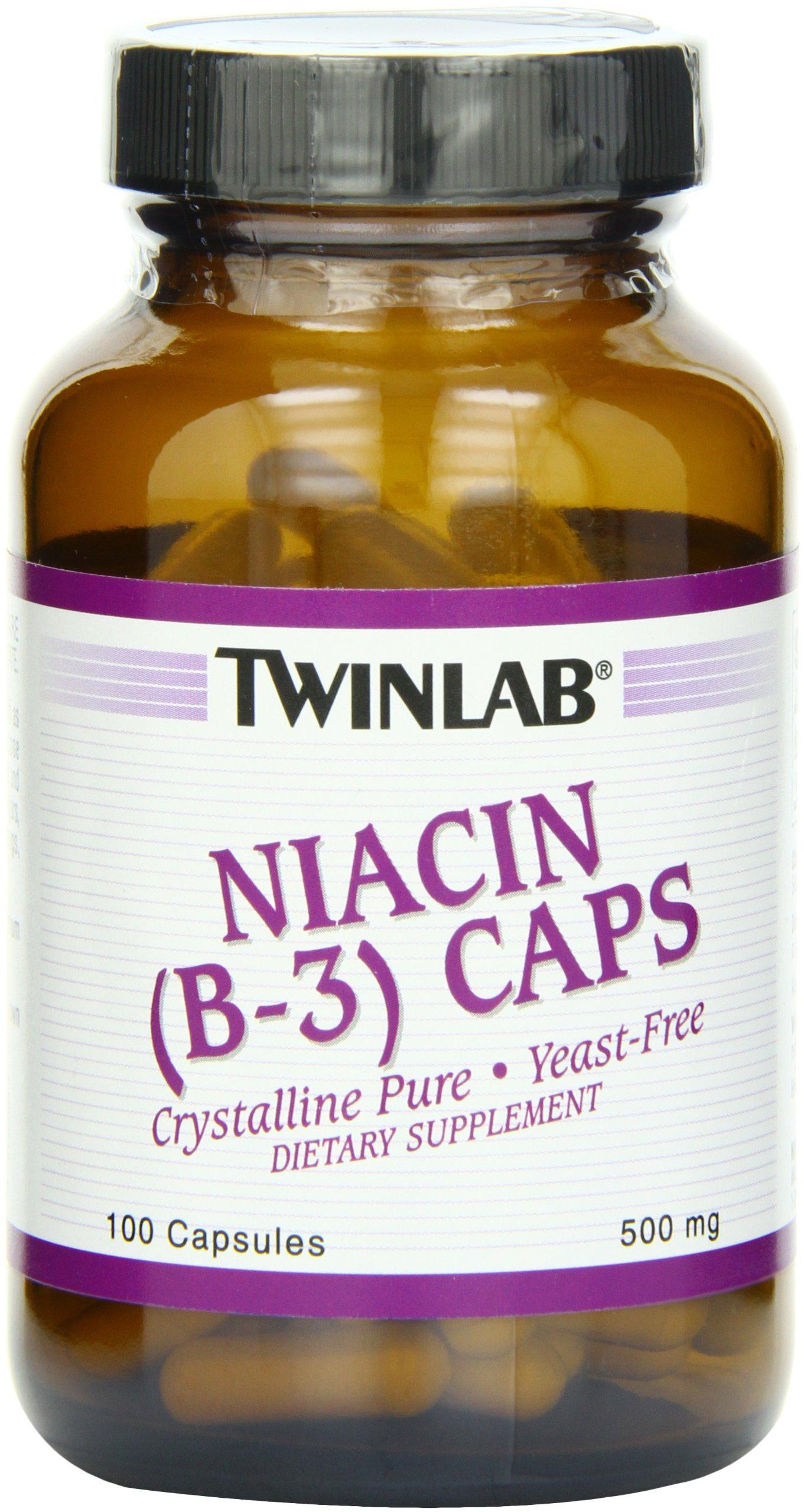 Twinlab Niacin B 3 500mg