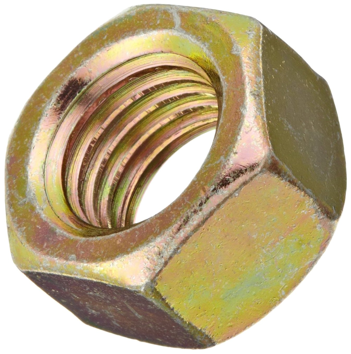 Plain Finish M12-1.5 Thread Size DIN 934 Metric 18-8 Stainless Steel Hex Nut Small Parts Pack of 5 10 mm Thick 19 mm Width Across Flats