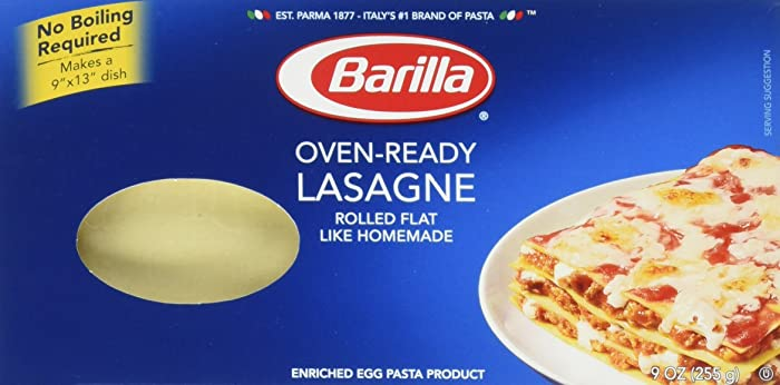 The Best Oven Ready Lasagna