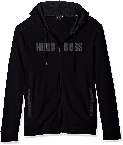 Amazon.com: Hugo Boss chamarra para hombre con capucha 1 ...