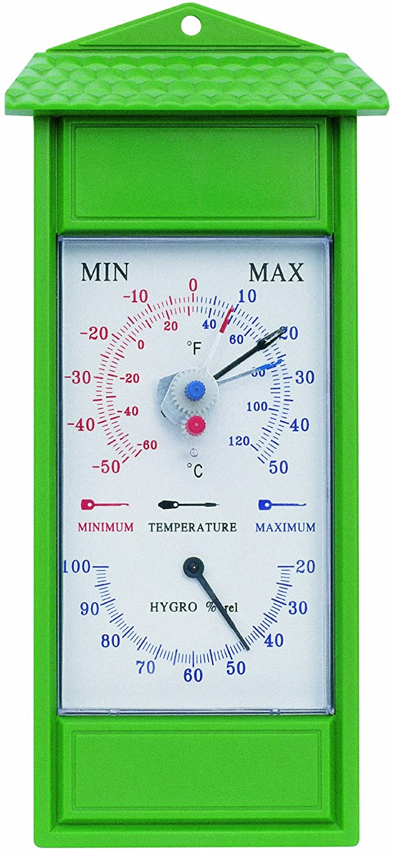 Koch 86600 Thermom/ètre minimax avec hygrom/ètre