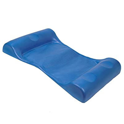 SwimWays Aquaria Aqua Hammock Lounge - Durable Aqua Cell Foam Pool Float - Blue: Sports & Outdoors