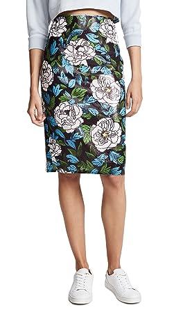 6dc0f13dd Diane von Furstenberg Women's Sequin Pencil Skirt, Boswell Ivory, ...