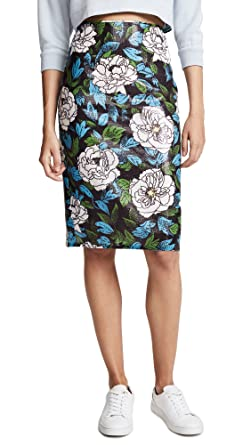 e0db91ee3 Diane von Furstenberg Women's Sequin Pencil Skirt, Boswell Ivory, ...