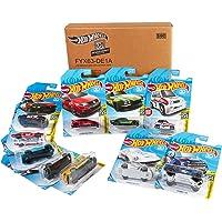 Hot Wheels - Coches, Surtido de 10 Vehículos de Hot Wheels, 1 Unidad (Exclusivo De Amazon) (Mattel FYX63)