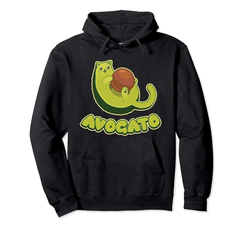 Avocato Cat Hoodie