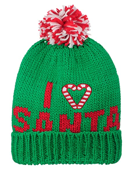 0bf3bec452d D Y Christmas Holiday Theme Winter Warm Knit Pom Beanie Hat
