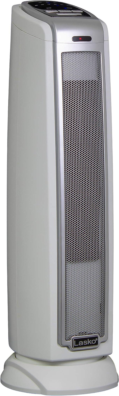 Lasko 1500W Oscillating Ceramic Tower Space Heater Electric Portable Indoor