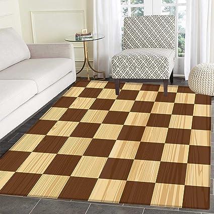 Amazon Checkered Floor Mat Pattern Empty Checkerboard Wooden