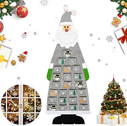 Advent Calendar Advent Calendar XXL Christmas Tree Advent Calendar bag