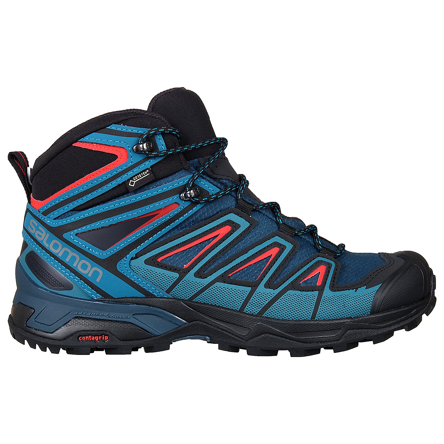 96834077e3c Buy Salomon Men s X Ultra 3 Mid GTX Hiking Shoes Online at Low Prices in  India - Amazon.in