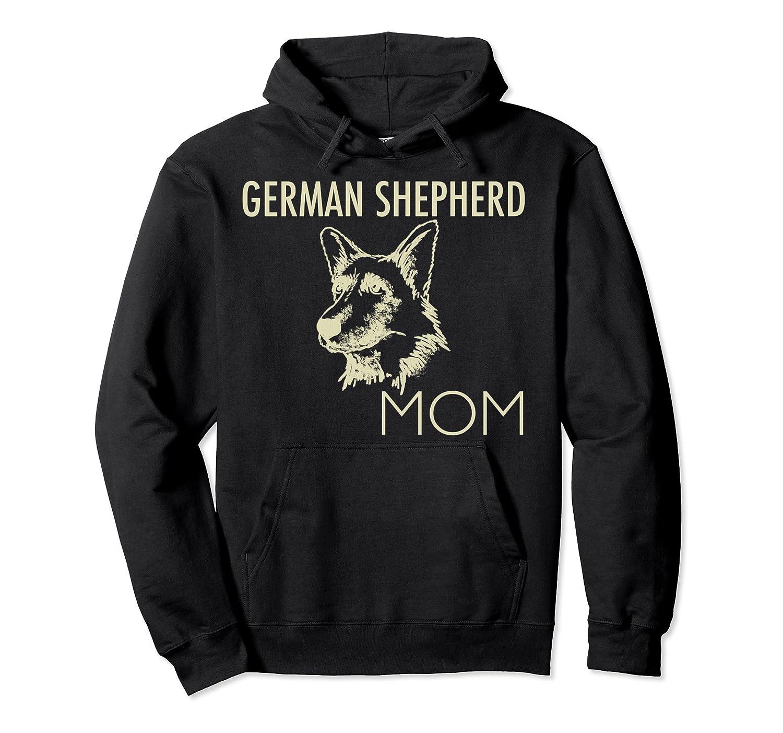 German Shepherd Mom Dog Pullover Hoodie-AZP