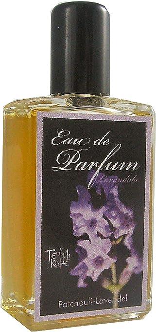 'Teufel Cocina Patchouli lavandula, pachulí con lavanda, Eau de Parfum para mujer, Gótico Parfum, Mini Frasco, 10 ml frasco de cristal (Madera),