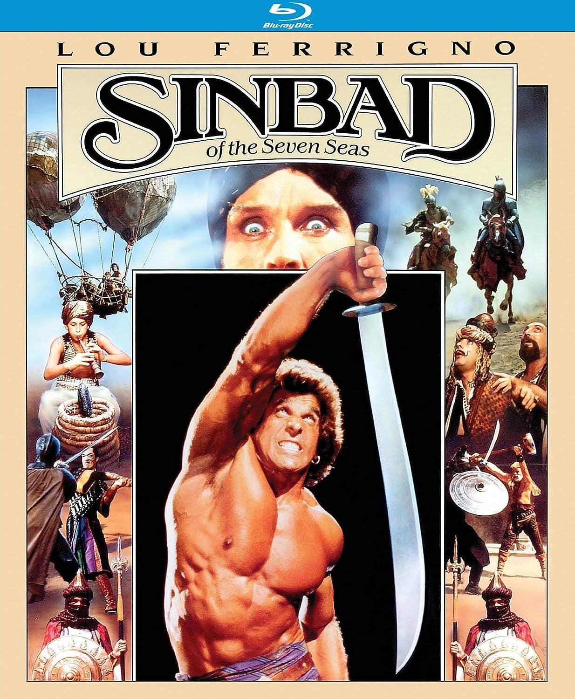 4ae71efc5 Amazon.com: Sinbad of the Seven Seas [Blu-ray]: Lou Ferrigno, John Steiner,  Alessandra Martines, Ennio Girolami, Hal Yamanouchi, Roland Wybenga, ...