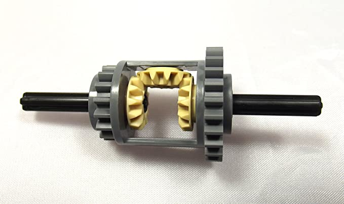 LEGO® Technic - engrenages différentiels (Gear) 24-16 á gris bleuté de lumière - Complete Set