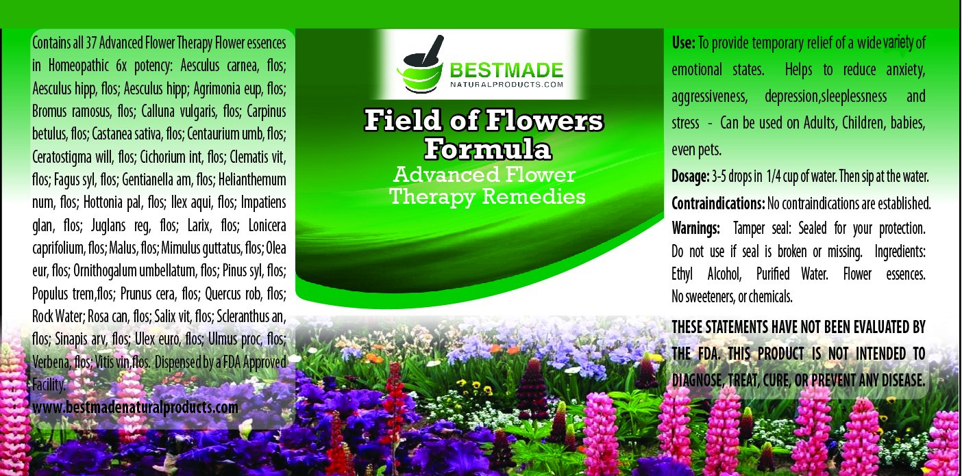 Amazoncom Field Of Flowers Formula 10ml A Combination Of All 37
