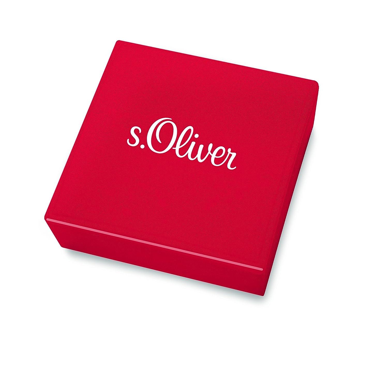 s.Oliver Herren-Collier Edelstahl mattiert Leder 50 cm 2018714